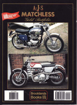 AJS and Matchless Gold Portfolio 1945 - 1966
