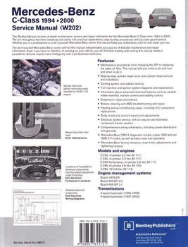 Mercedes - Benz C-Class 1994 - 2000 Workshop Manual