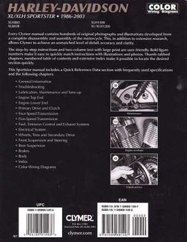 Harley-Davidson XL / XLH Sportster 1986 - 2003 Workshop Manual