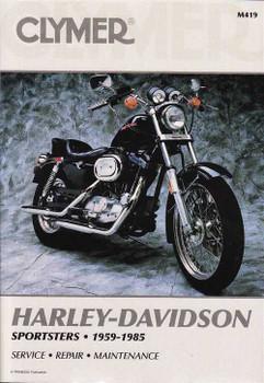 Harley-Davidson Sportsters 1959 - 1985 Workshop Manual