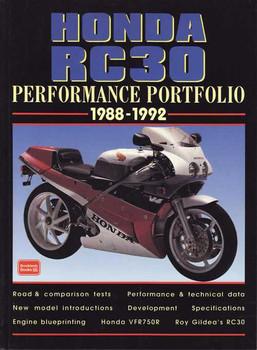 Honda RC30 Performance Portfolio 1988 - 1992