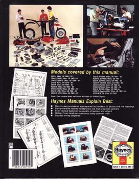 Kawasaki 400, 500 & 550 Fours 1979 - 1991 Workshop Manual