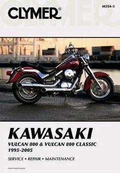 Clymer Kawasaki Vulcan 800 & Vulcan 800 Classic 1995-2005 manual