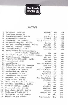 Laverda Performance Portfolio 1978 - 1988