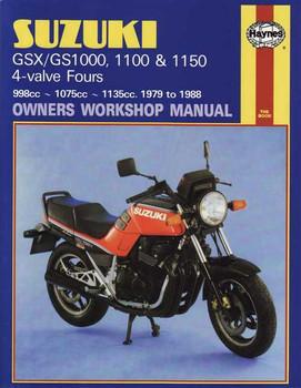 Suzuki GSX/GS1000, 1100 & 1150 4-valve 1979 - 1988 Workshop Manual