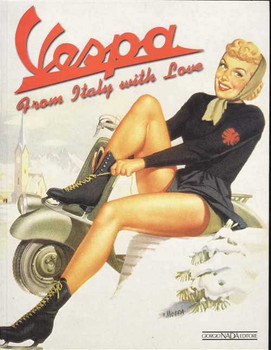 Vespa From Italy With Love