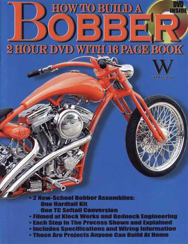 How to Build a Bobber, (2 Hour DVD With 16 Page Book)