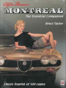 Alfa Romeo Montreal: The Essential Companion (Classic Reprint) (9781845848248)  - front