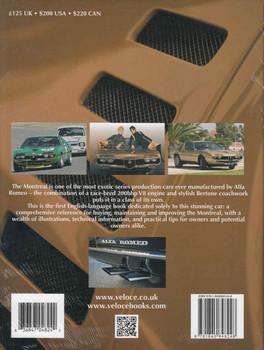 Alfa Romeo Montreal: The Essential Companion (Classic Reprint) (9781845848248)  - back