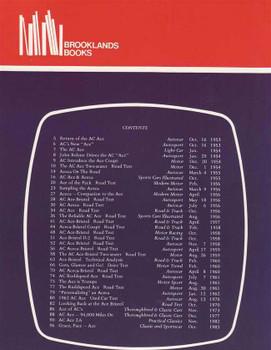 AC Ace & Aceca 1953 - 1983