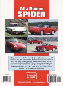 Alfa Romeo Spider Ultimate Portfolio 1966 - 1994