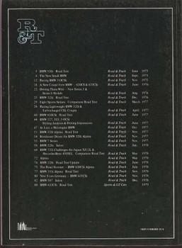Road & Track On BMW Cars 1975 - 1978