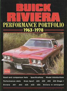 Buick Riviera Performance Portfolio 1963 - 1978