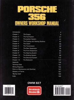 Porsche 356 1957 - 1965 Owners Workshop Manual