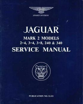 Jaguar Mark 2 Models 2.4, 3.4, 3.8, 240 & 340 Workshop Manual