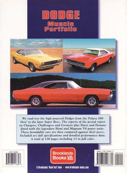 Dodge Muscle Portfolio 1964 - 1971
