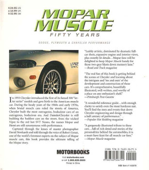 Mopar Muscle Fifty Years: Dodge, Plymouth & Chrysler Performance