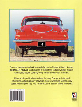 Chrysler Valiant: Including an Extensive Motor Racing Section