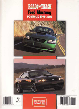 Road & Track Ford Mustang Portfolio 1994 - 2002