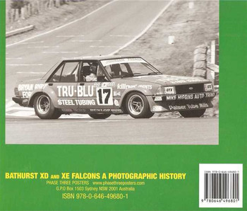 Bathurst XD and XE Falcon: A Photographic History (Hard Cover Book)