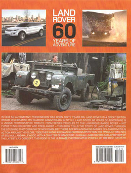 Land Rover 60 Years Of Adventure