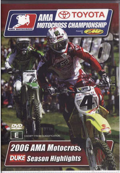 AMA Motocross Championship 2006: Season Highlight DVD