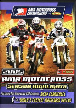 AMA Motocross Championship 2005: Season Highlight DVD