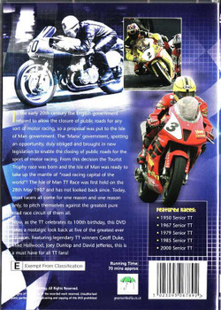 TT's Greatest Ever Races DVD