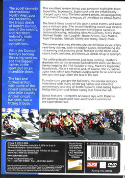 NW 200: Official Review of The 2008 Kennedy International DVD