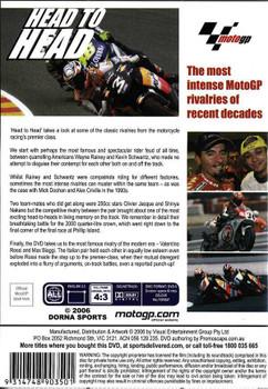 MotoGP: Head To Head DVD
