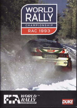 RAC Rally 1993: World Rally Championship DVD