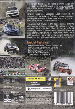 FIA World Rally Championship 2005: Ignition DVD