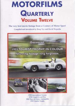 Motorfilms Quarterly Volume Twelve DVD