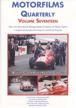Motorfilms Quarterly Volume Seventeen DVD