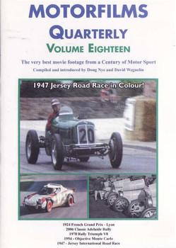 Motorfilms Quarterly Volume Eighteen DVD