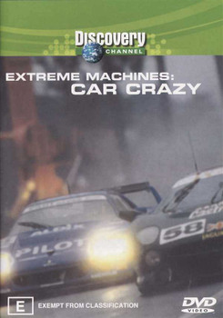 Extreme Machines: Car Crazy DVD