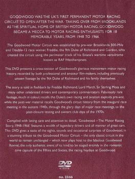 Goodwood: The Motor Racing Story 1948 - 1966 DVD