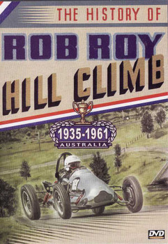 The History of Rob Roy: Hill Climb 1935 - 1961 DVD