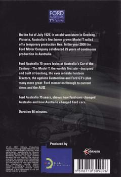 Ford Australia: 75 Years DVD