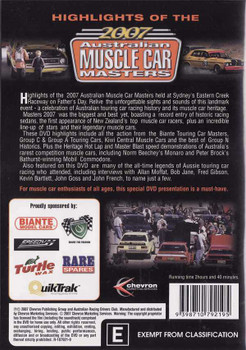 Highlights of The 2007 Australian Muscle Car Masters DVD