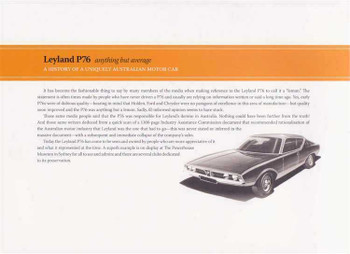 Leyland P76: Anything But Average (Signed By The Author)