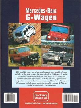 Mercedes - Benz G-Wagen Gold Portfolio 1981 - 2005