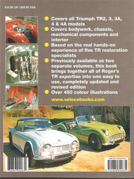 How To Restore Triumph TR2, TR3, TR3A, TR4, TR4A: Restoration Manual