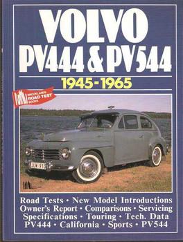 Volvo PV444, PV544 1945 - 1965