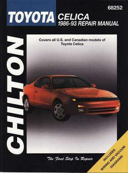 Toyota Celica 1986 - 1993 Workshop Manual