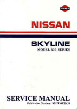 nissan model l20a l24 l26 l28 series engine workshop manual rh automotobookshop com au 1995 Houston Skyline 1995 Houston Skyline