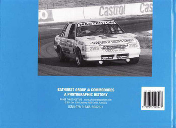 Bathurst Group A Commodores: A Photographic History (Hard Cover)
