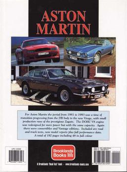 Aston Martin Ultimate Portfolio 1981 - 1993