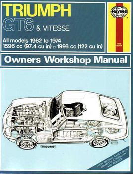 Triumph GT6 and Vitesse 1962 - 1974 Workshop Manual