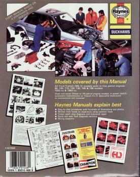 Ford Transit Petrol MK3 1986 - 1989 Workshop Manual